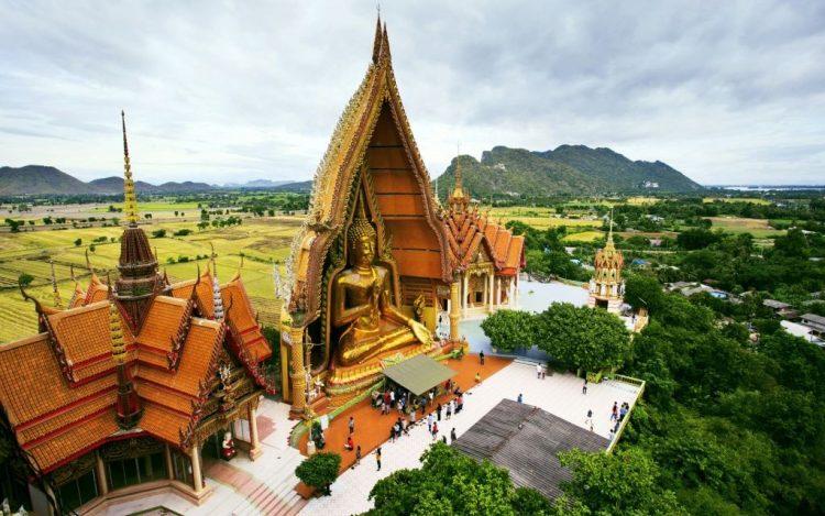 Ват Пратат храм Тигра Таиланд