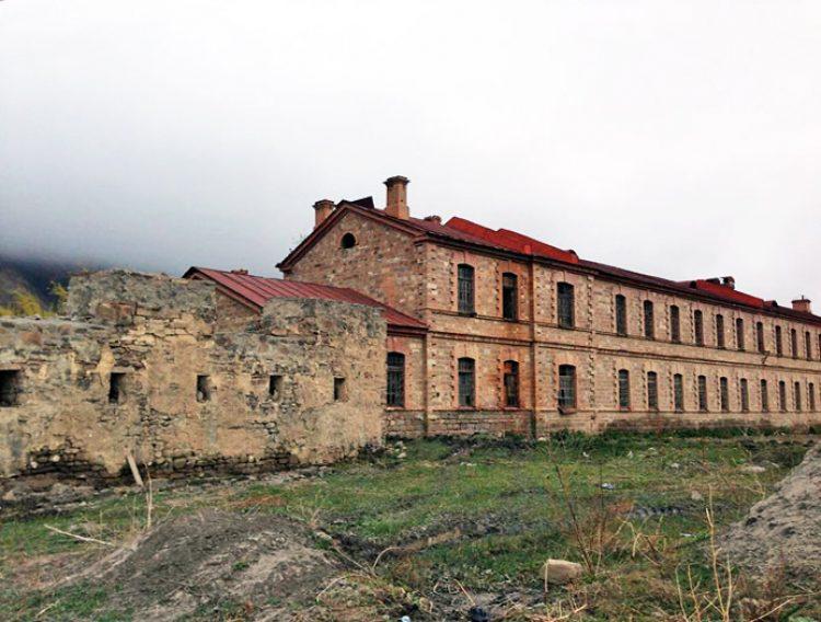 Ахтынская крепость Дагестан