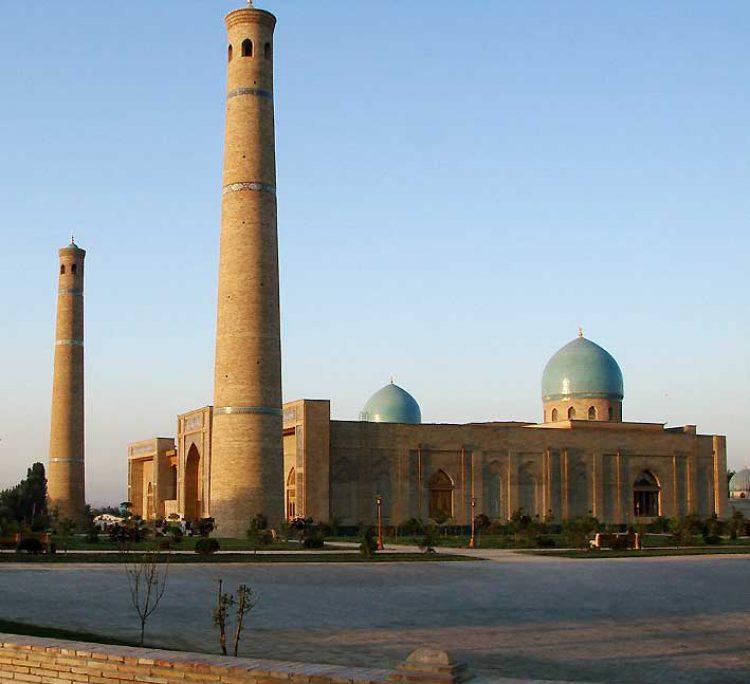 Мавзолей в Ташкенте
