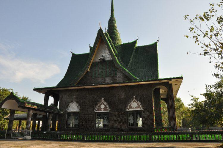 Храм Бутылок Тайланд