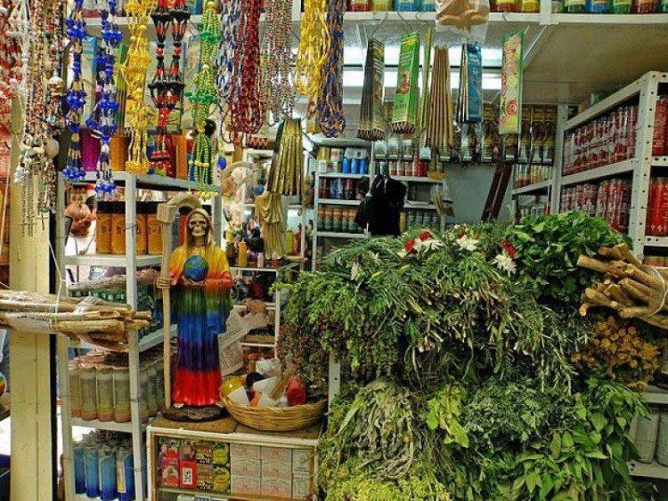 Магический рынок в Мехико