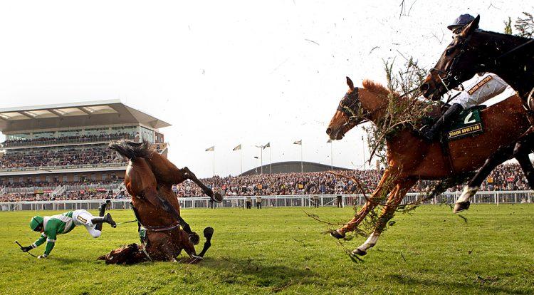 Помощь при падении с лошади