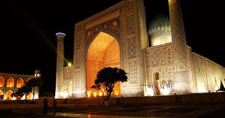 Самарканд Узбекистан