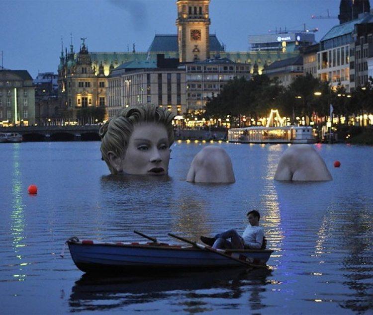 Альстер озеро Гамбург