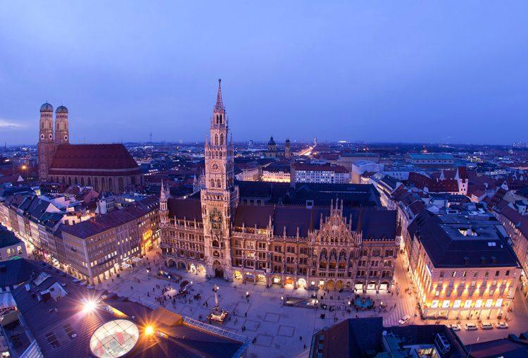 Мюнхен Центральная площадь