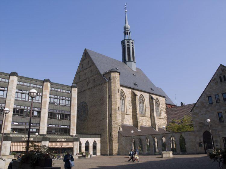 Дортмунд Церковь Иоанна Крестителя в центральной части города