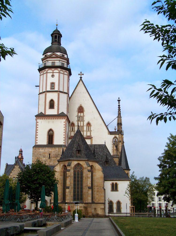 Церковь св. Фомы лейпцигa