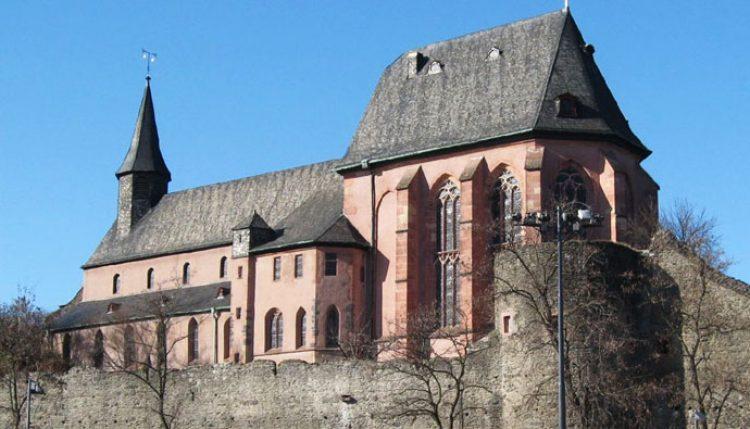 Церковь святого Юстина франкфурт на майне