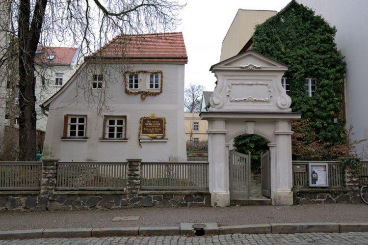 Дом-музей Шиллера Лейпциг