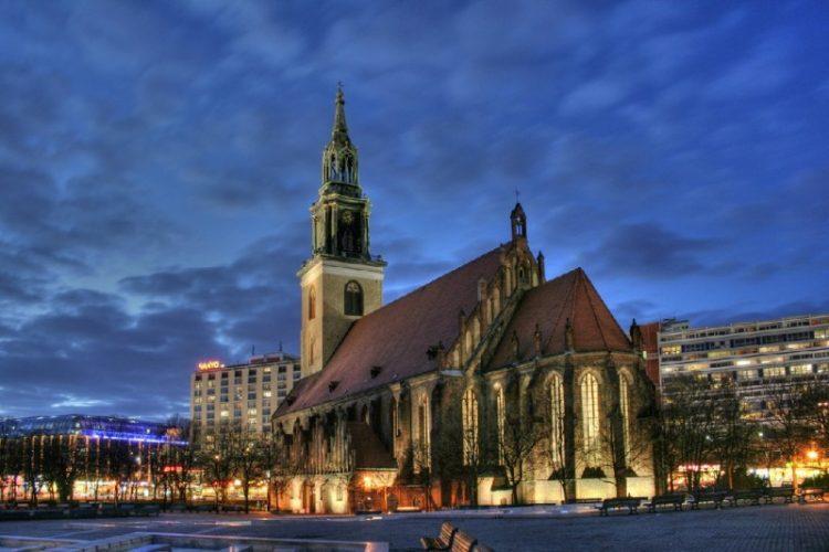 Берлин Церковь Святой Марии