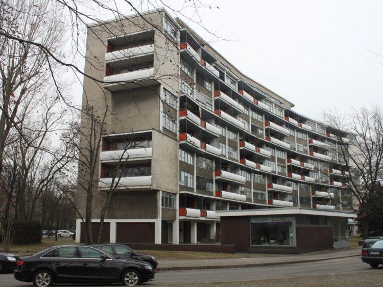 Квартал Ганза (Ганзафиртель) берлин