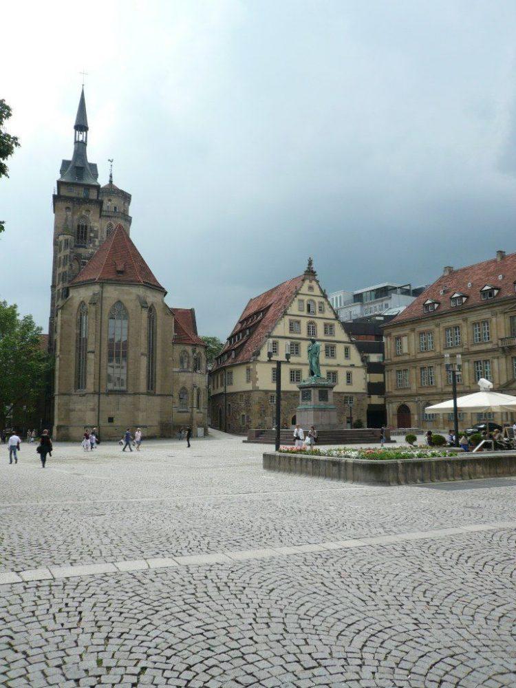 Монастырская церковь Штуттгарт