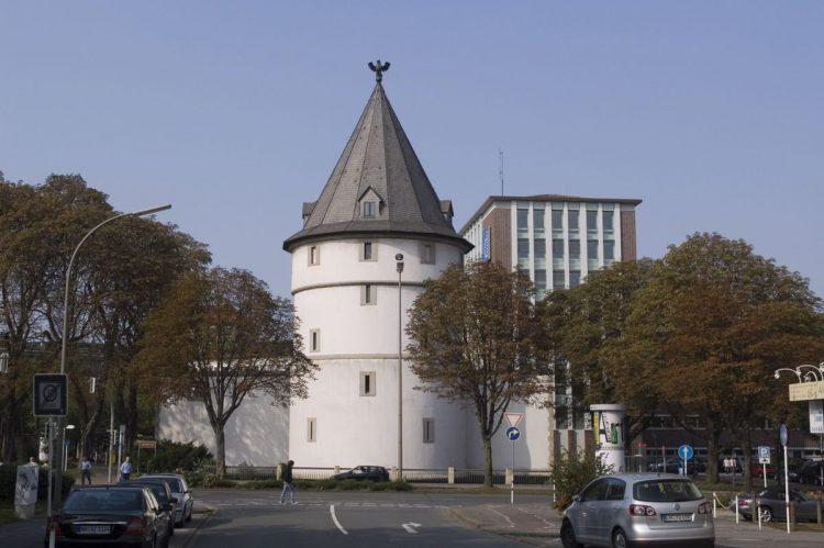 Дортмунд Орлиная башня на границе старого города