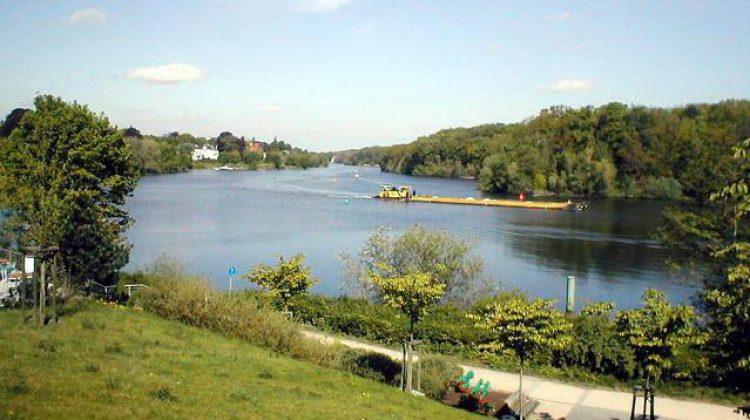 Озеро Ванзее берлин