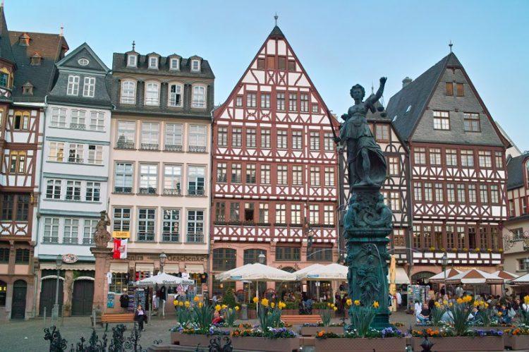 Площадь Ремер Франфурт
