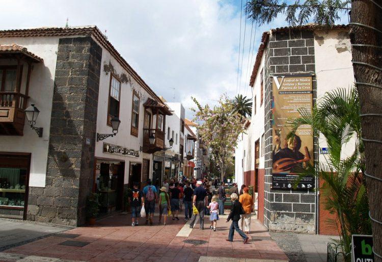 Старинный город Пуэрто де ла Крус