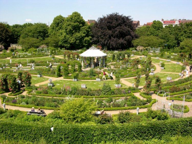 Гамбург Ботанический сад