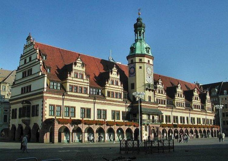 старая ратуша лейпциг
