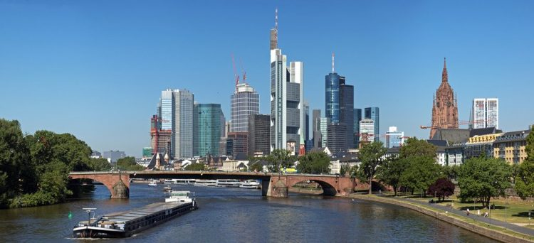 Старый мост франкфурт на майне