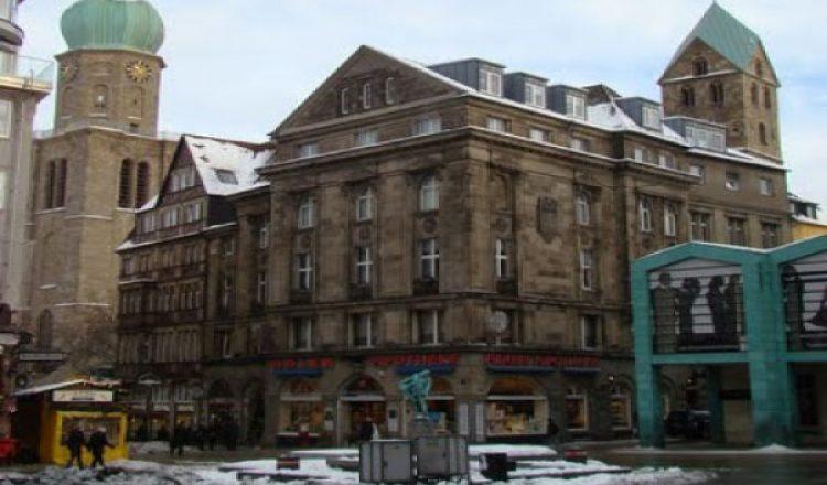 Старый рынок около улицы Весенхилльвег дортмунд