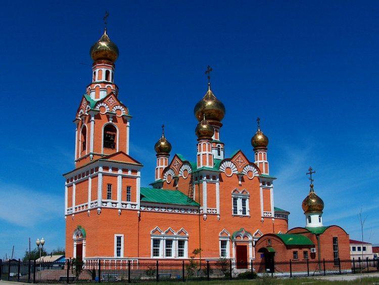 Успенский собор Атырау