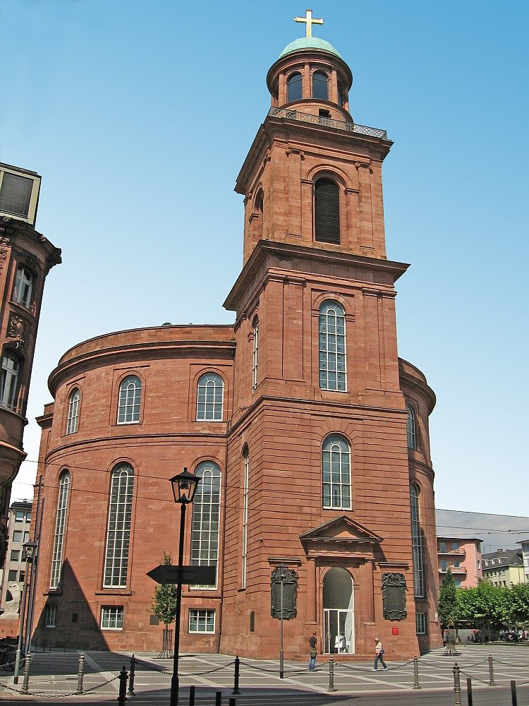 Церковь Св. Павла франкфурт на майне
