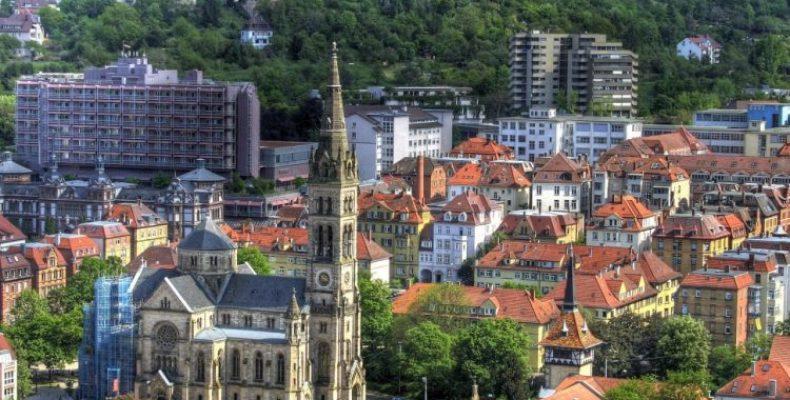 Город Штутгарт – связь веков в реальности